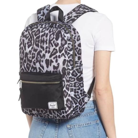 usa cheap sale reasonable price great look Herschel Leopard Backpack NWT